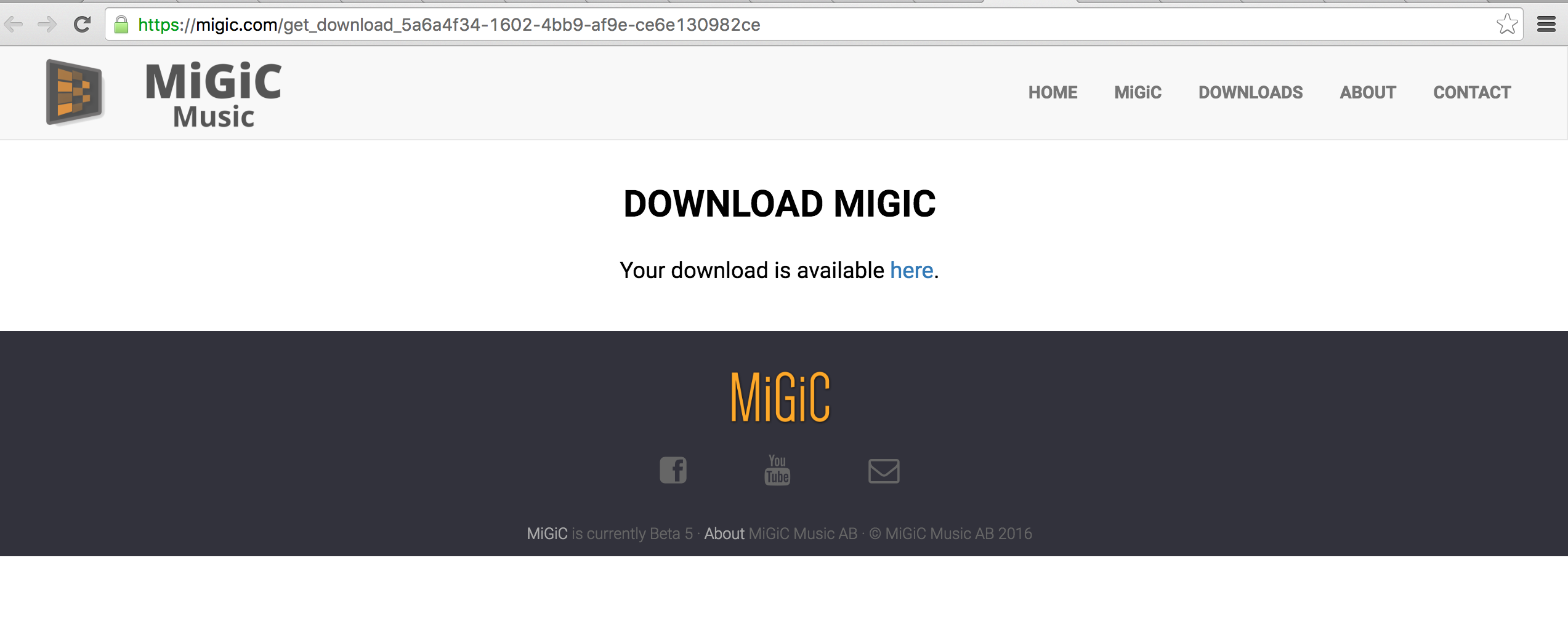 Download MIGIC step 03